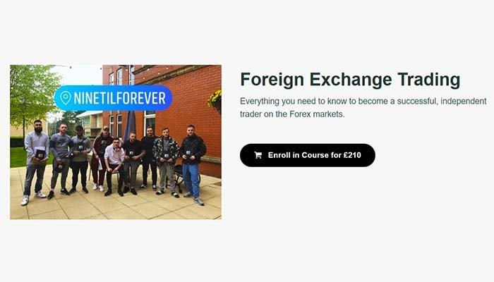 NineTilForever – Foreign Exchange Trading course