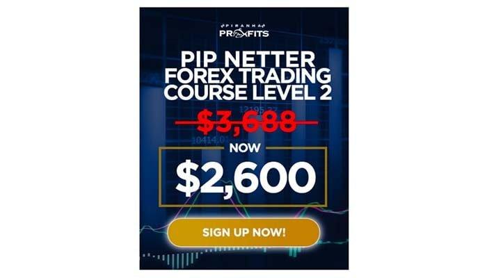 Piranha Profits – Forex Trading Course Level 2 – Pip Netter