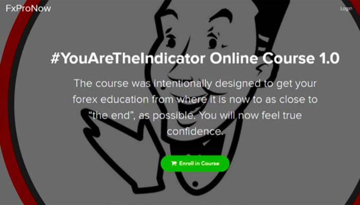 You Are The Indicator Online Course 1.0 – FXProNow